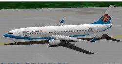 FS98 China Airlines Boeing 737-800 image 1