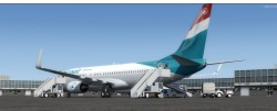 FSX/P3D Boeing 737-800 Luxair package with image 3