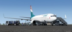 FSX/P3D Boeing 737-800 Luxair package with image 4