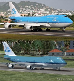 FSX Estonian Air Default Boeing 747-400 30 image 1