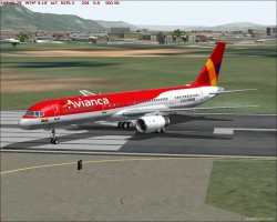 FS2004 Avianca Colombia 2005 Livery Boeing image 1