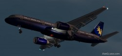 Fs2002 Boeing 757-236 Caledonian Textures image 1