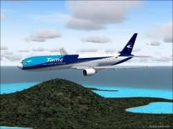 FS2004 Boeing 767-400 Tame Fuselage and wings image 1