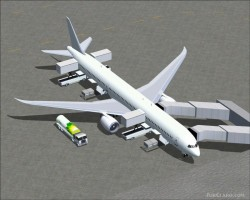 FS2004 Boeing 787-10 Base Pack including 4 image 1