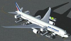 FS2004 Air France Boeing 787 Super 11 3 image 2