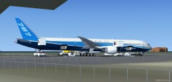 FSX Boeing household Colors Boeing 787 Super image 1