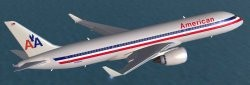 FSX American Airlines Boeing 787-3 including image 1