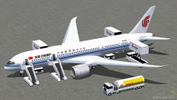 FS2004 Air China Boeing 787-8 V2 image 1