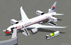 FS2004 China Eastern Airlines Boeing 787-8 V2 image 1