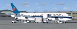 FSX China Southern Boeing 787-8 V2 CamSim image 1