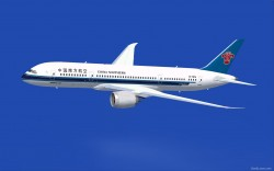 FSX China Southern Boeing 787-8 V2 CamSim image 2