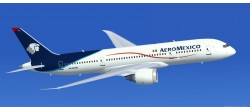 FSX AeroMexico new colors Boeing 787-8 with image 1