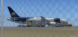 FSX AeroMexico new colors Boeing 787-8 with image 2