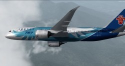 FSX P3D Boeing 787-8 China Southern enhanced VC image 10