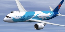 FSX P3D Boeing 787-8 China Southern enhanced VC image 1