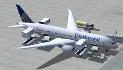 FSX Continental Boeing 787-8 V2 image 2