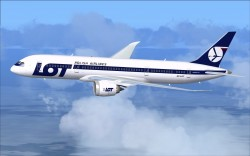 FSX LOT Polish Airlines Boeing 787-8 V2 image 1