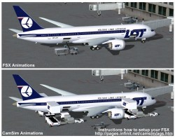 FSX LOT Polish Airlines Boeing 787-8 V2 image 2