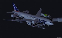 FS2004 LOT smooth Airlines new colors Boeing image 1