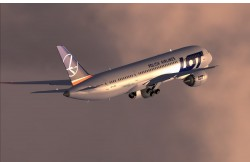 FSX LOT Airlines new colors Boeing 787-8 V2 image 1
