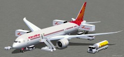 FSX Air India Boeing 787-8 V3 image 1
