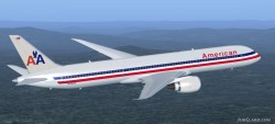 FS2004 American Airlines Boeing 787-9 image 1