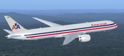 FSX American Airlines Boeing 787-9 including image 1