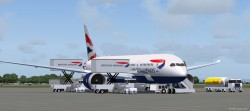 FS2004 British Airways Boeing 787-9 V2 image 1