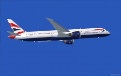 FS2004 British Airways Boeing 787-9 V2 image 2