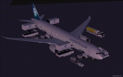 FS2004 Air New Zealand Boeing 787-9 V2 image 1