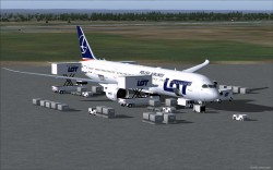 FSX LOT Polish Airlines Boeing 787-9 V5L image 2