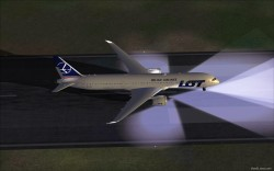 FSX LOT Polish Airlines Boeing 787-9 V5L image 3
