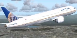 Boeing 787-8 V2 United New Colors image 1