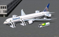 FS2004 United Airlines New Colors image 1