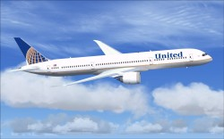 FSX United New Colors United/Continental image 1