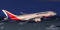 7E7-800 Royal Nepal Airlines model Robert image 1