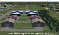 FS2004 Scenery - Pine Shadows Airpark 94FL image 1