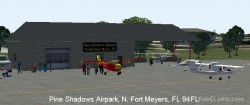 FS2004 Scenery - Pine Shadows Airpark 94FL image 2
