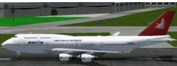 FS2002 B747-400 Package Mozambique Airlines image 2