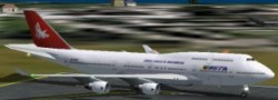 FS2002 B747-400 Package Mozambique Airlines image 3