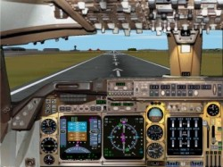 FS2002 B747-400 Package Mozambique Airlines image 5