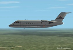 FS2002 Bombardier CL-604 Challenger ver6 image 1