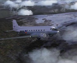 Default FS2004 Douglas DC3 Chilean paints image 1