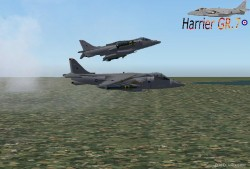 Harrier Gr.7 Repainted Fictional image 1