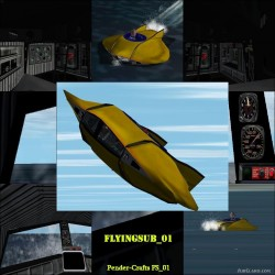 Flyingsub voyage Bottom Sea image 1
