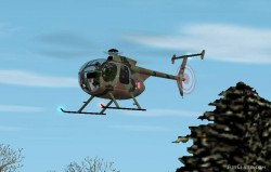 FS2002 MD500 colors croatian airforce image 1