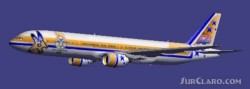 Olympic Star Airways 777-300 Textures repaint image 1