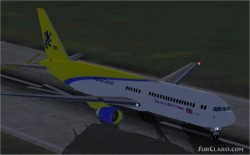 FS2002 Fresh Vuk-Air 767-300 image 1