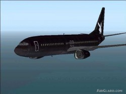 FS2004 PLAYBOY DEFAULT BOEING 737-400 TEXTURES image 1
