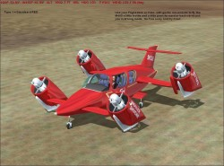 FS2004 Skycar M400 Production Type image 1